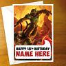 DOOM Personalised Birthday Card - personalized eternal video game greeting