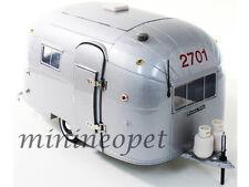 MOTOR CITY CLASSICS 88101 AIRSTREAM ALUMINIUM CAMPER TRAILER 1/18 DIECAST SILVER