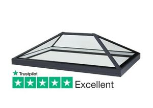 Roof Lantern Rooflight For Flat Roof - Low E Glass 1000mm x 2000mm