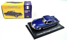 "Citroen DS Coupe "" Le Dandy "" Year 1967 Blue scale 1:43 From Atlas"