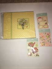 Scrapbook Album & Stickers Sheets K&Company 12x12 Daisy Block NEW see details