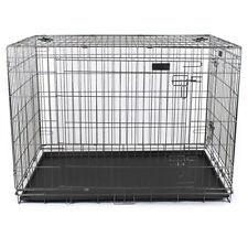 Gabbia per cani box cani pieghevole trasportino XL 107x70x78 cm