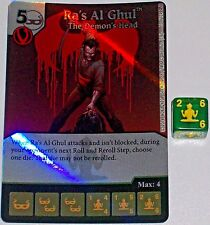 Foil RA'S AL GHUL: THE DEMON'S HEAD 70 Green Arrow and The Flash Dice Masters