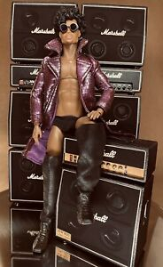 MY NAME IS PRINCE - MUSIC ROYALTY PRINCE ROGERS NELSON INSPIRED DIORAMA - OOAK