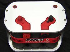 34//78 Web Billet Aluminum Optima Battery Tray//Box-D34-Marine//Boat//HotRod//Rat Rod