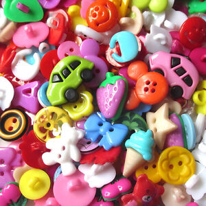 New 100PCS Mix Lots Plastic Buttons Sewing Craft T0802