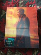 BLADE RUNNER 2049 [3D + 2D] Blu-ray STEELBOOK [HDZETA] DBL. LENTICULAR / OOS/OOP