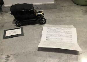 Franklin Mint 1:24 Precision Model 1913 Ford Model T Black