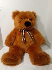 "Huge 21"" PLUSH TEDDY BEAR Soft Classics 1995 TOYS R US Stuffed Animal FLUFFY"
