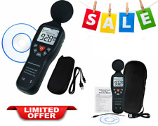 Data Logging Function Sound Level Decibel Meter With Backlight Display Compact