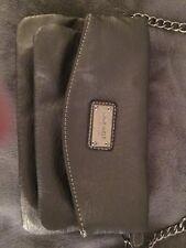 NEW Nine West Crossbody Handbag Purse Silver Grey Clutch