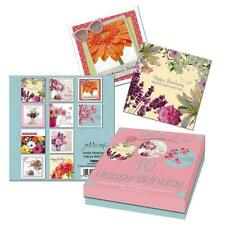 Tallon 'Just To Say' Box of 10 Birthday Greeting Cards - Floral