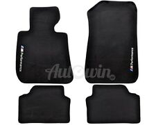 BMW 3 Series E90/E91 Winter Floor Mats With Rubber Background /// M Performance