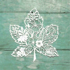 Maple Leaf Modeling Metal Cutting Dies Embossing Stencil Album Decorative NEW