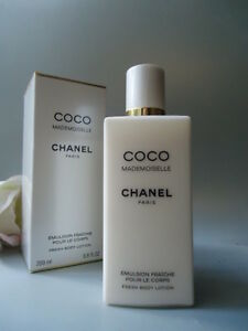 CHANEL COCO MADEMOISELLE Fresh Body Lotion 200ml Discontinued New Not Mint Box
