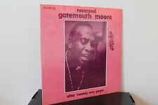 REVEREND GATEMOUTH MOORE After Twenty One Years LP (Bluesway BLS-6074) SEALED