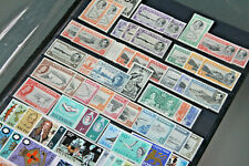 ASCENSION GV-QEII - MINT AND UNMOUNTED MINT COLLECTION IN D/S STOCKSHEET