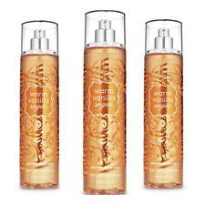 Bath and Body Works WARM VANILLA SUGAR Fine Fragrance Mist~8 fl.oz. ( Lot of 3 )