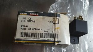 CNH CASE 198162A1 RELAY, FITS 680K BACKHOES  120A, 170A, 100A, 150A ENGINES OEM