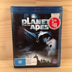 PLANET OF THE APES Sci-Fi Action Adventure Blu-Ray Movie (R4) 2007 Mark Wahlberg