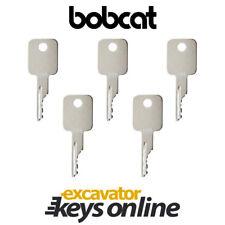 Bobcat & Case D250 Excavator Key (Set of 5) Case Skid Steer