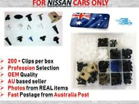 Trim Body Retainer Door Panel Bumper Fastener Clips for NISSAN Cars ONLY