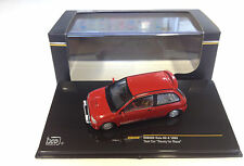 SUBARU VIVIO RX-R 1993 TEST CAR READY FOR RACE RED IXO MOC160 1/43 ROSSO ROUGE