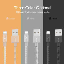 ANKER PowerLine+ Nylon Braided USB Charger Data Cable For iPhone X 8 7 6s Plus
