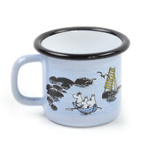 Moomin Mellow Wind Rowing Boat - Moomin Muurla Enamel Mug - 15 cl