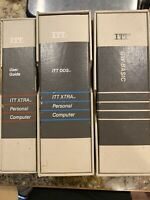 Vintage ITT Xtra Personal Computer DOS GW-Basic Manual Manuals Only