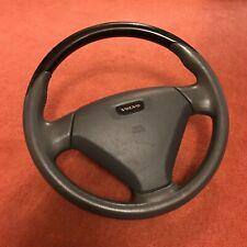 GENUINE VOLVO 96-04 S40 V40 PIANO BLACK 3 SPOKE STEERING WHEEL