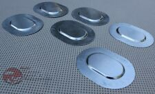 GM Chevy A Body Trunk Floor Pan Plugs Metal Plates Set Of Six 6 pc Stamped Steel