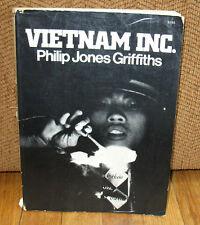 SIGNED Philip Jones Griffiths Vietnam Inc War Original 1971 Collier 1st PB