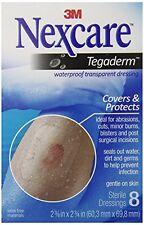 3M Nexcare Tegaderm Transparent Dressing 2 3/8 x 2 3/4, 8 Count Each