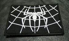 SPIDER WEB TACTICAL COMBAT MILITARY MORALE HOOK  PATCH