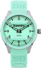 Reloj Mujer Superdry Scuba Midi SYL120M de Goma Verde