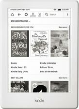 "New *White Color* AMAZON KINDLE 8th Gen 2016 TOUCHSCREEN WIFI 6"" 4GB World Ship"