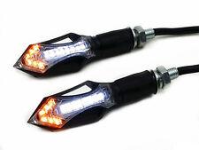Front Arrow LED TURN SIGNAL Running Light For Buell KTM Ducati Dual Sport BMW CB
