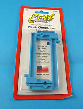 """Excel 3.5"""" Plastic Clamps 2 Pack For Craft & Hobby Building"""