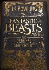 Fantastic Beasts Where to Find Them Screenplay Book JK Rowling Harry Potter