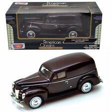 Motor Max 1:24 W/B American Classics 1940 Ford Sedan Delivery Diecast Car