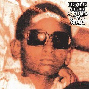 KEZIAH JONES - African Space Craft CD - 12 TRACK VIRGIN RECORDS CD