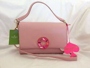 Kate Spade New York x Darcel Tobyn Satchel/Crossbody Bag in Pink NWT: SRP:$398
