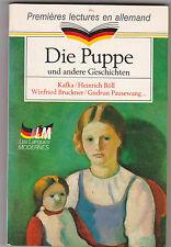 Die Puppe Und Undere Geschichten - premières lectures en allemand.