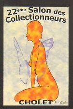 """CHOLET (49) SALON des COLLECTIONNEURS """"PAPILLON & FEMME"""" en 2003"""