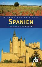SPANIEN Gesamt Michael Müller Reiseführer Madrid 06 M Reisehandbuch Andalusien §