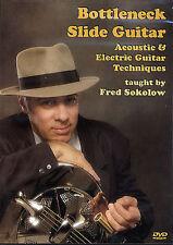 GUITAR DVD Bottleneck Slide Acoustic Electric Technique