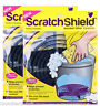 2 x Scratch Shield Grit Guard Universal Adjustable Car Wash Bucket Filters Black