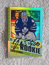 Toronto Maple Leafs Jussi Rynnas Signed 12/13 O-Pee-Chee Rainbow Rookie Auto