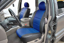 JEEP GRAND CHEROKEE 1999-2004 IGGEE S.LEATHER CUSTOM FIT SEAT COVER 13COLORS